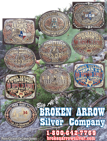 Check out the latest buckles from Broken Arrow Silver