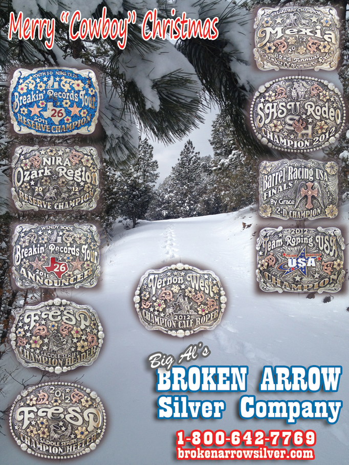 JUNE 2012 Broken Arrow Rodeo Buckles, Tiara's and more