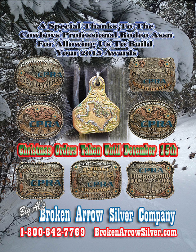 Broken Arrow Silver December 2015 Buckle Series
